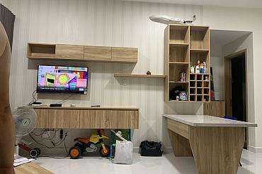 Thi công full nội thất căn hộ  D7.01 chung cư Safira Khang Điền